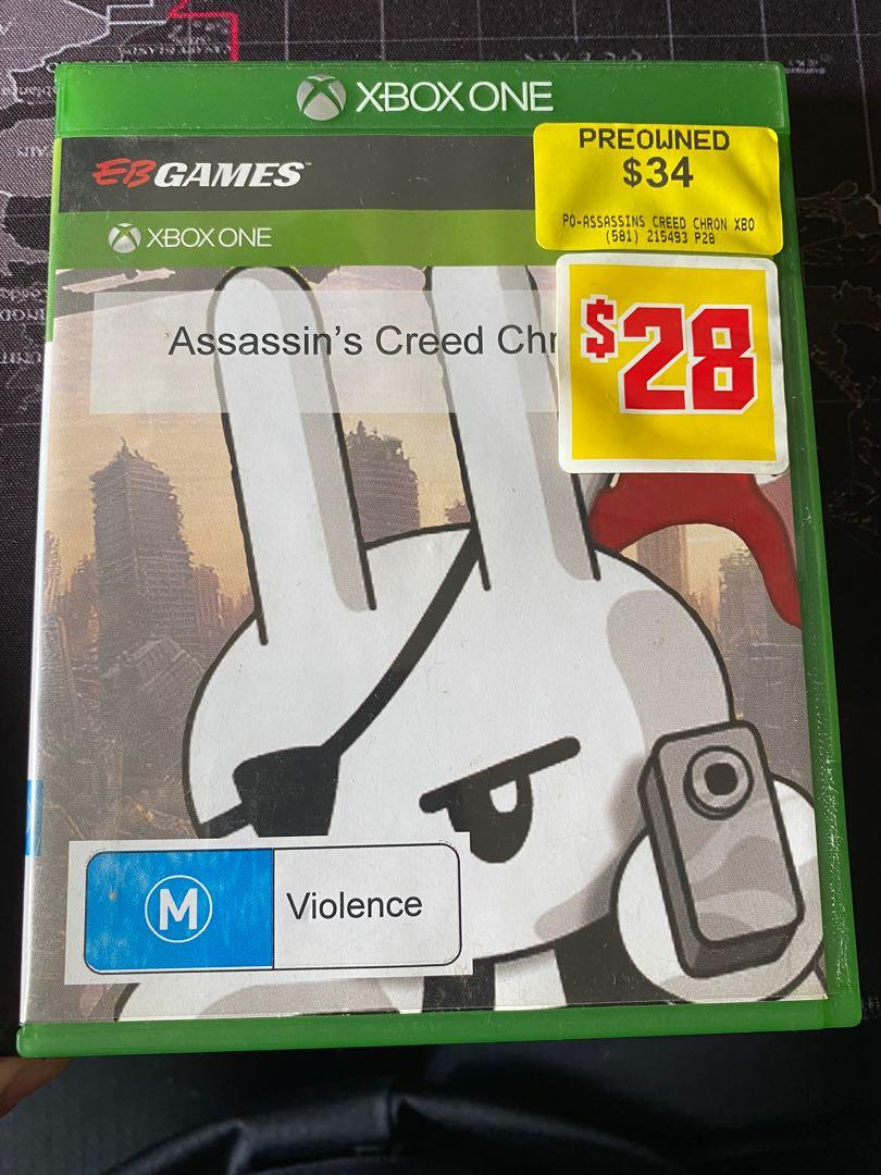 Xbox One 英文版刺客教條編年史 Assasin's Creed Chronicles Brought back from AU