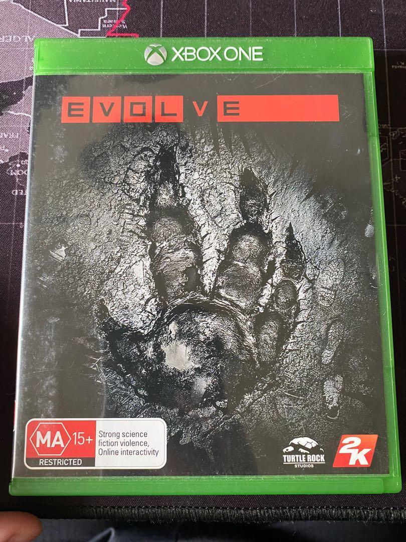 Xbox One 惡靈進化 Evolve 英文版