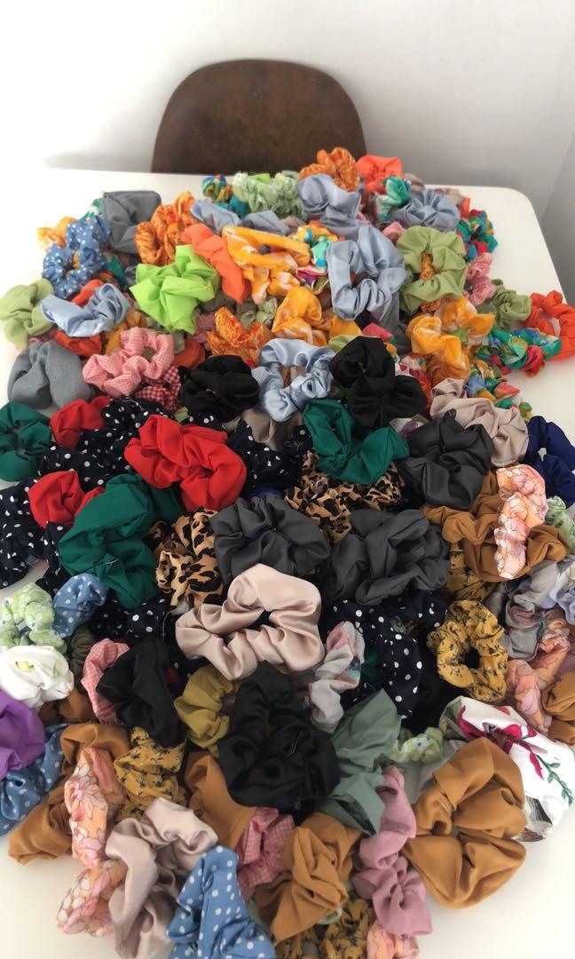 10 scrunchies for  $15