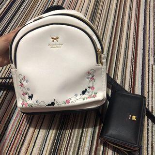 1 set tas dan dompet merry crown