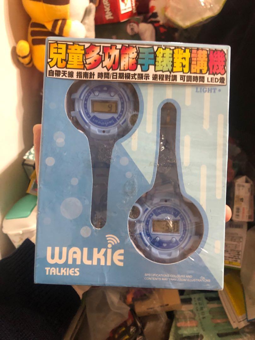 兒童多功能手錶對講機全新未拆