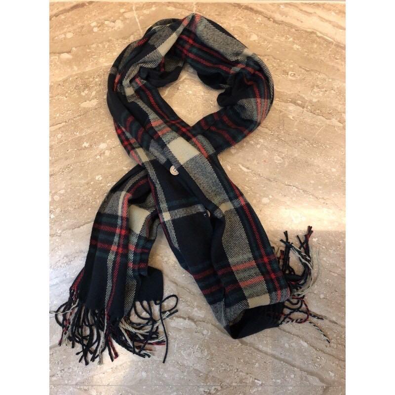 圍巾造型圍巾三個扣子多變化圍巾全新商品