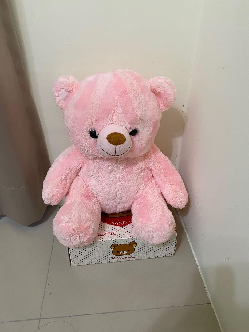 粉紅泰迪熊