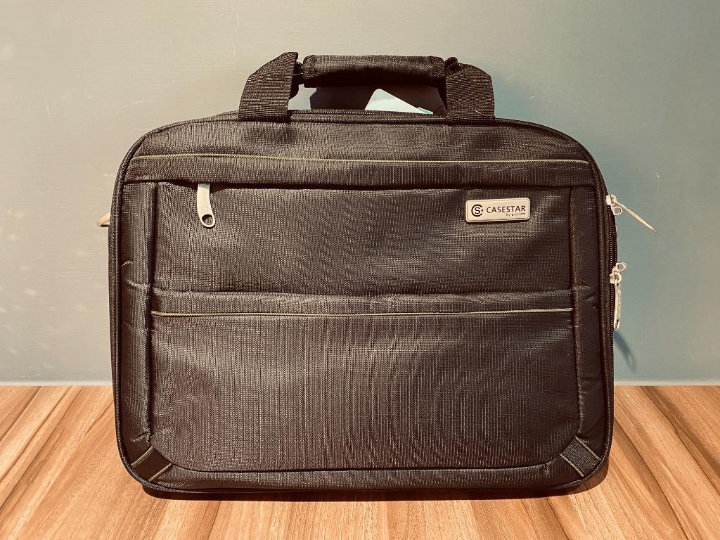 【萬國通路】16吋電腦手提袋~公事包~ 多夾層