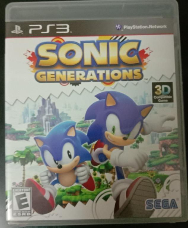 音速小子 世代 純白時空 PS3 Sonic Generations