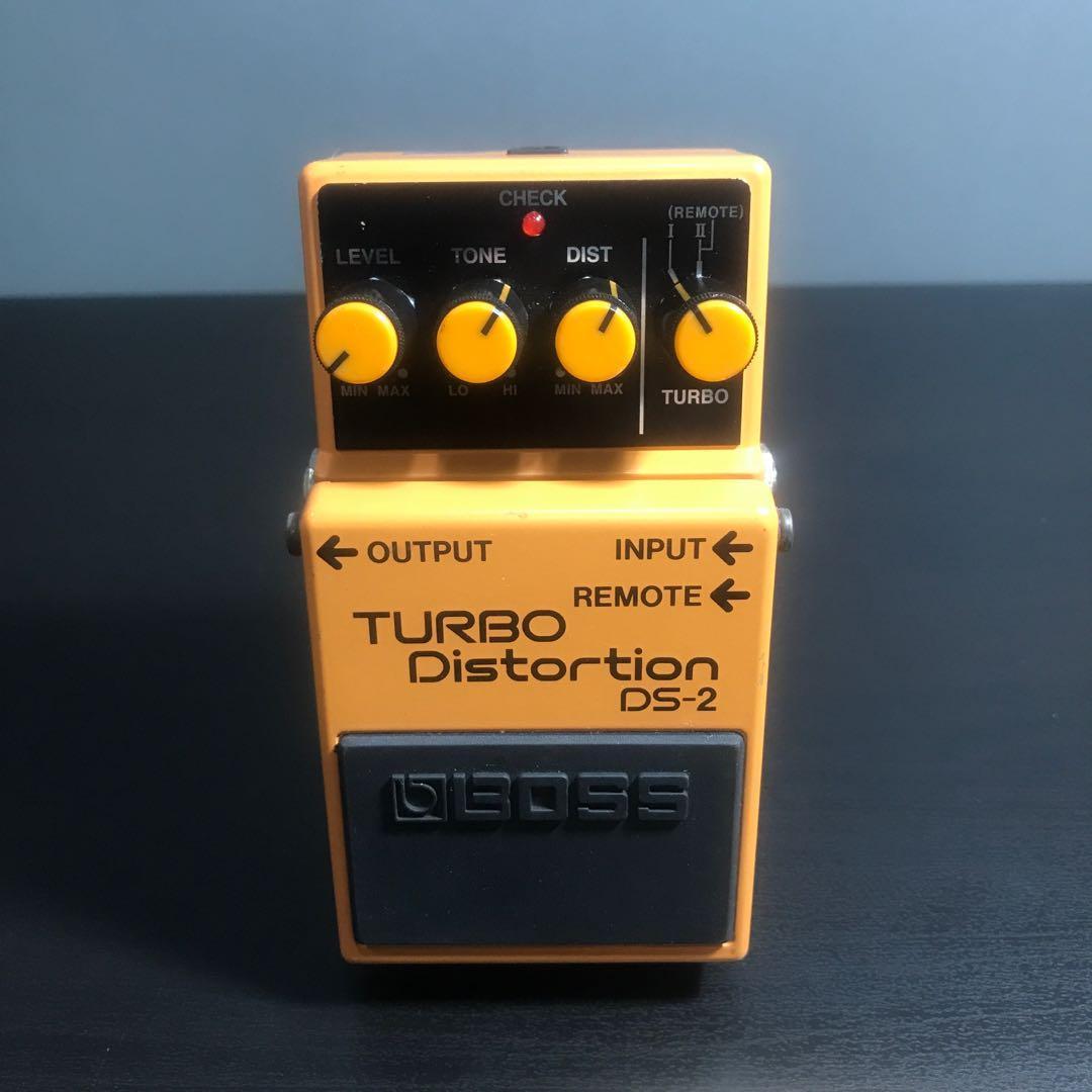 [ BOSS ] DS-2 TURBO Distortion 破音效果器