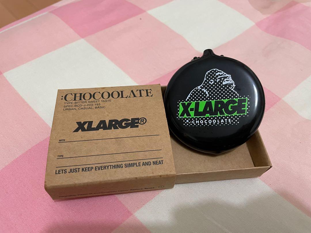聯名 CHOCOOLATE x XLARGE黑色零錢包