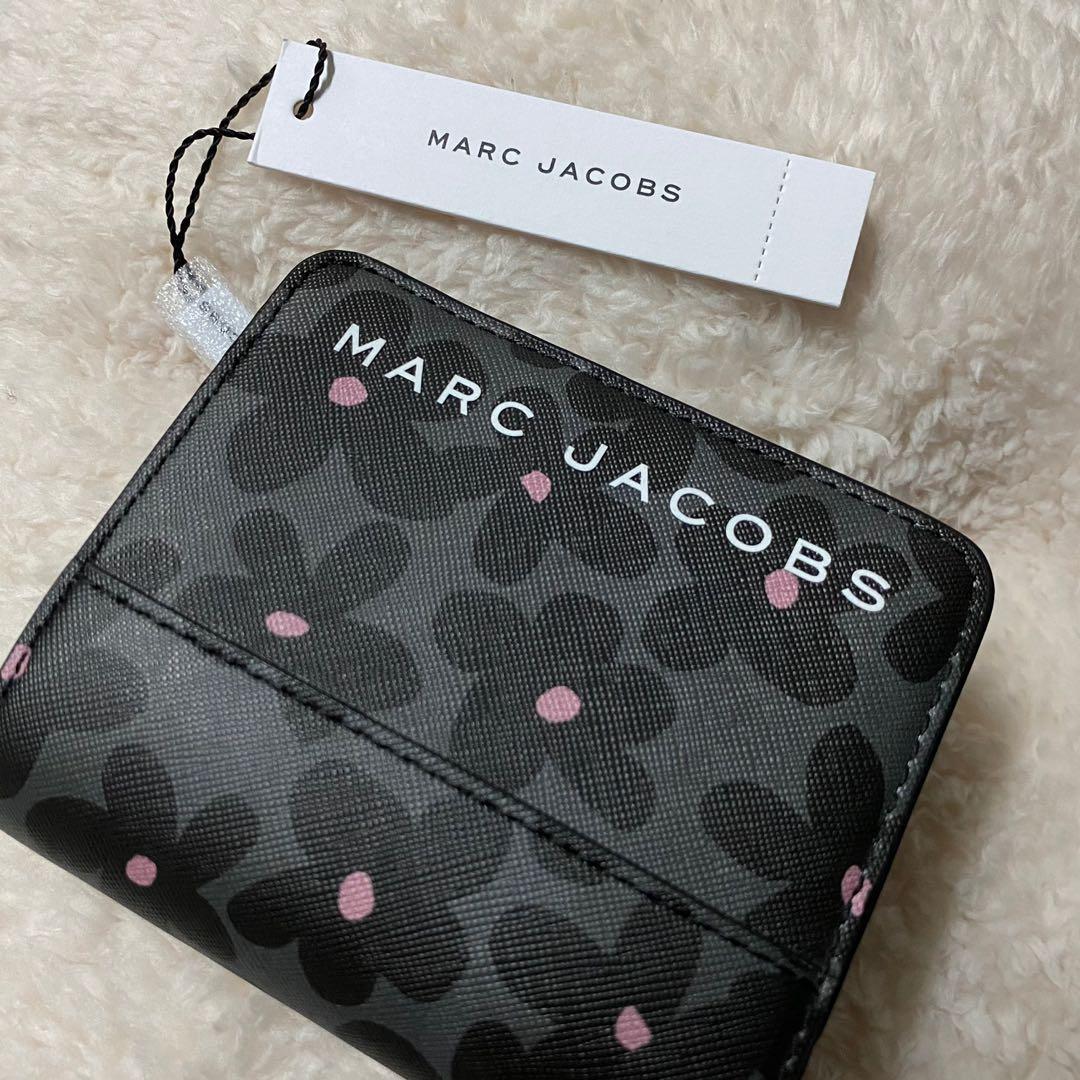 全新 MJ MARC JACOBS 小雛菊零錢袋扣式防刮短夾