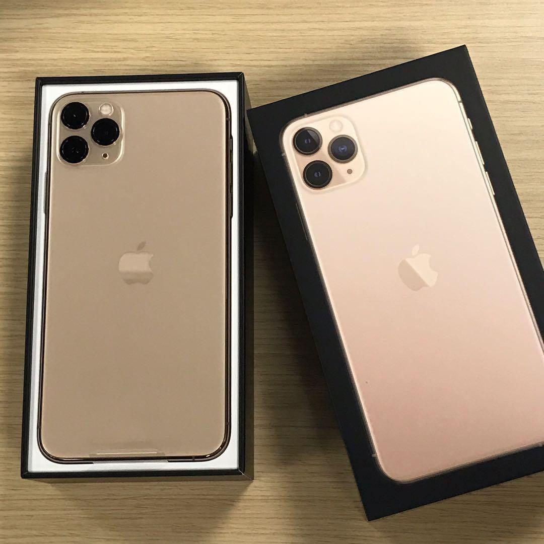 APPLE 金 iPhone 11 PRO 256G高容量 近全新 盒裝配件耳機齊全 刷卡分期零利率 無卡分期
