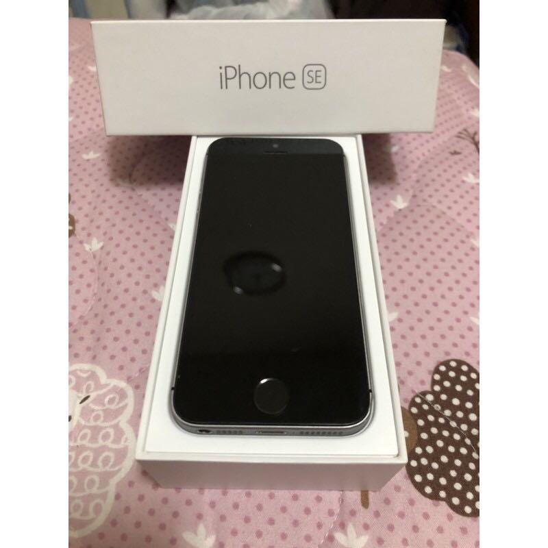 Apple 蘋果 iPhone SE 64GB 黑色二手機