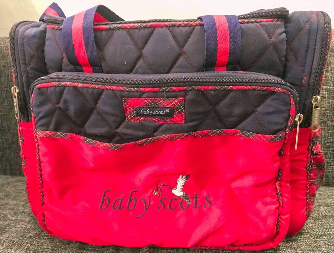 Baby Scots Large Diaper Bag