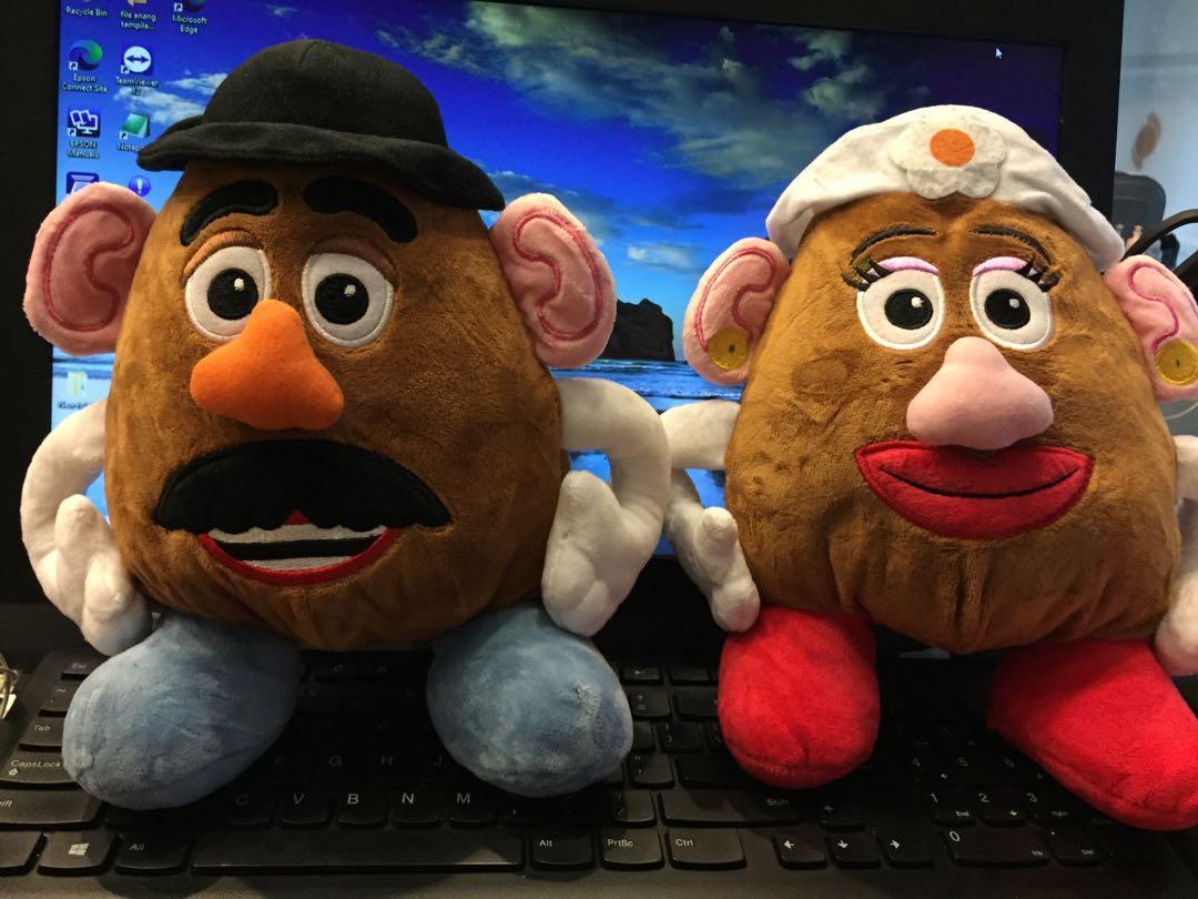 Boneka Mr & Mrs Potato Toys Story