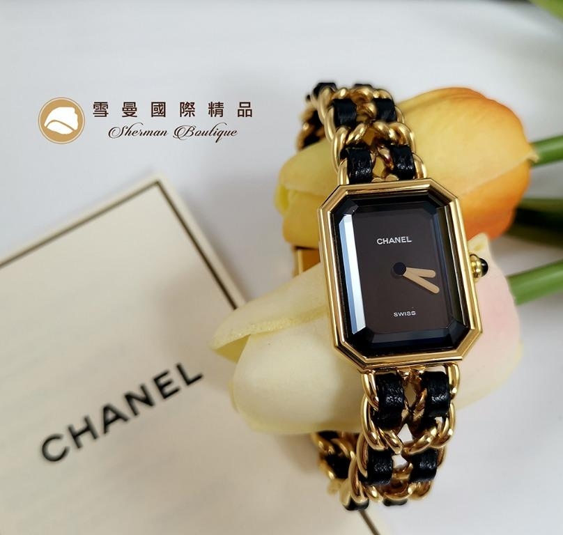 【雪曼國際精品】Chanel H0001香奈兒首映系列premiere手錶M尺寸~二手