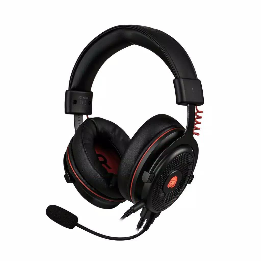 Digital Alliance Headset Gaming Titan Premium Black 7.1 Surround Sound Over Ears Black