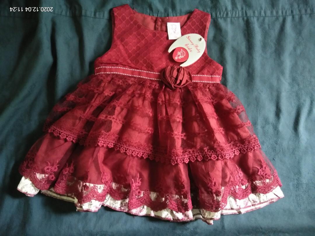 Dress baby 6-9 bulan