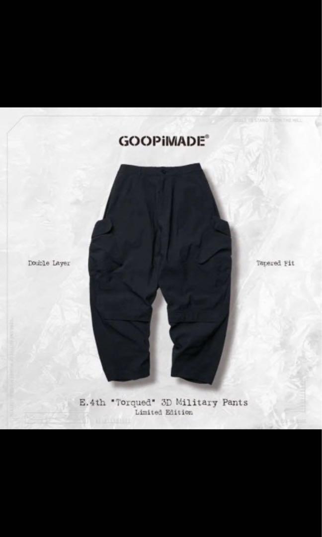 Goopi 四週年 1號 深藍 褲