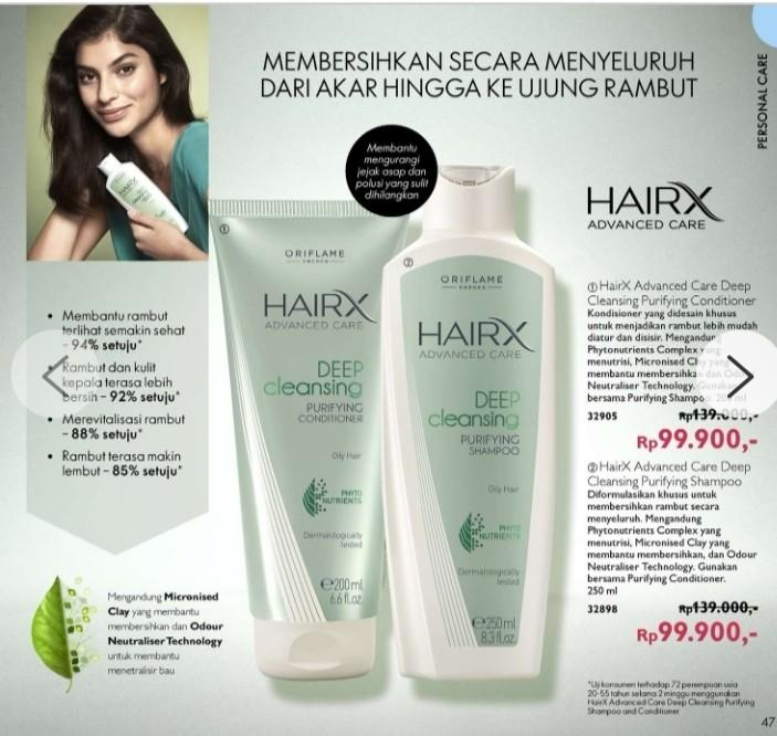 Hair x advanced Sampo and Conditioner