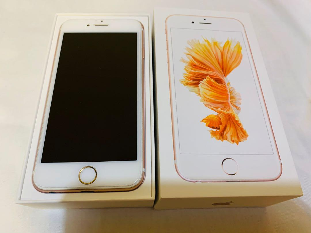 For 陳先生 售自用iPhone 6s 16g 玫瑰金