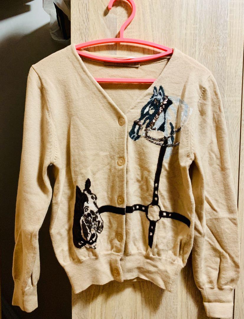 Lindarico Italy 義大利🇮🇹品牌 專櫃100%羊毛🦙 針織外套🧶