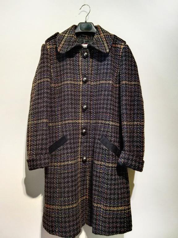 ::Max&Co.:: 毛呢大衣 毛呢長版大衣 長版外套 內標已剪