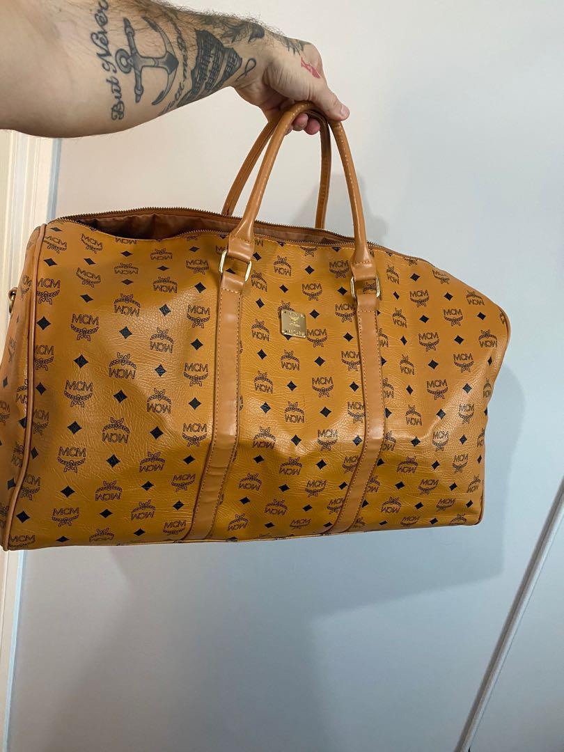 MCM extra large duffle bag / travel bag