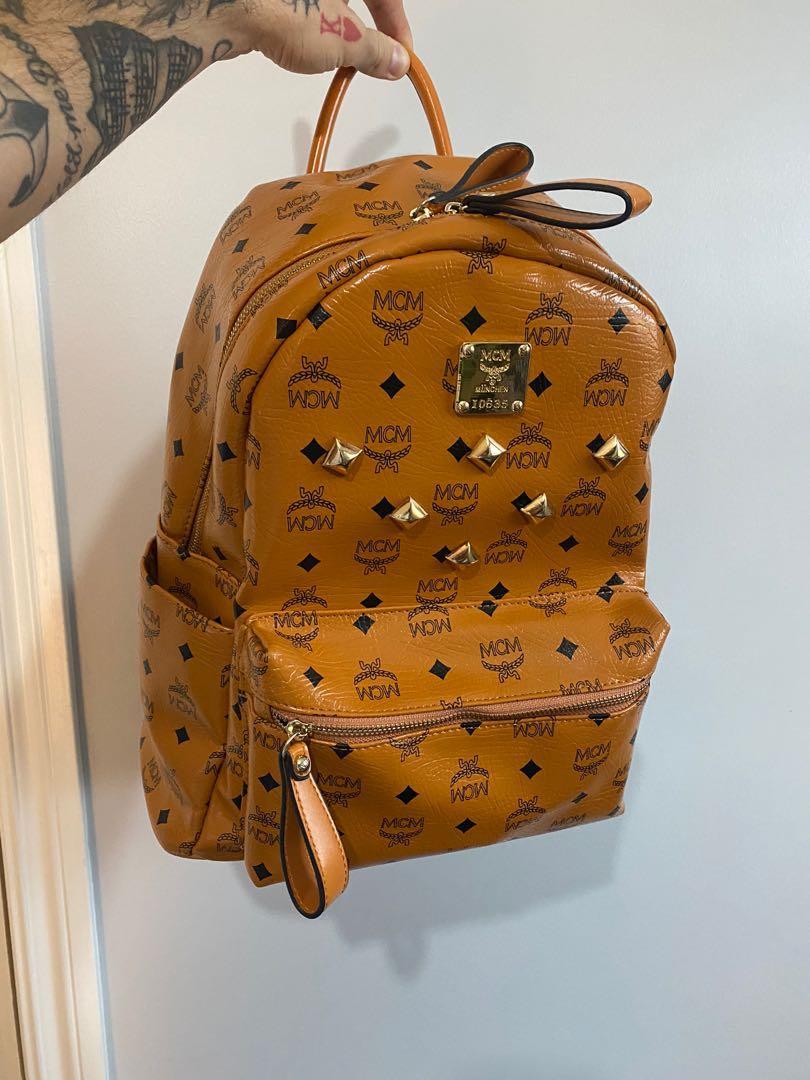 MCM large Stark studded backpack