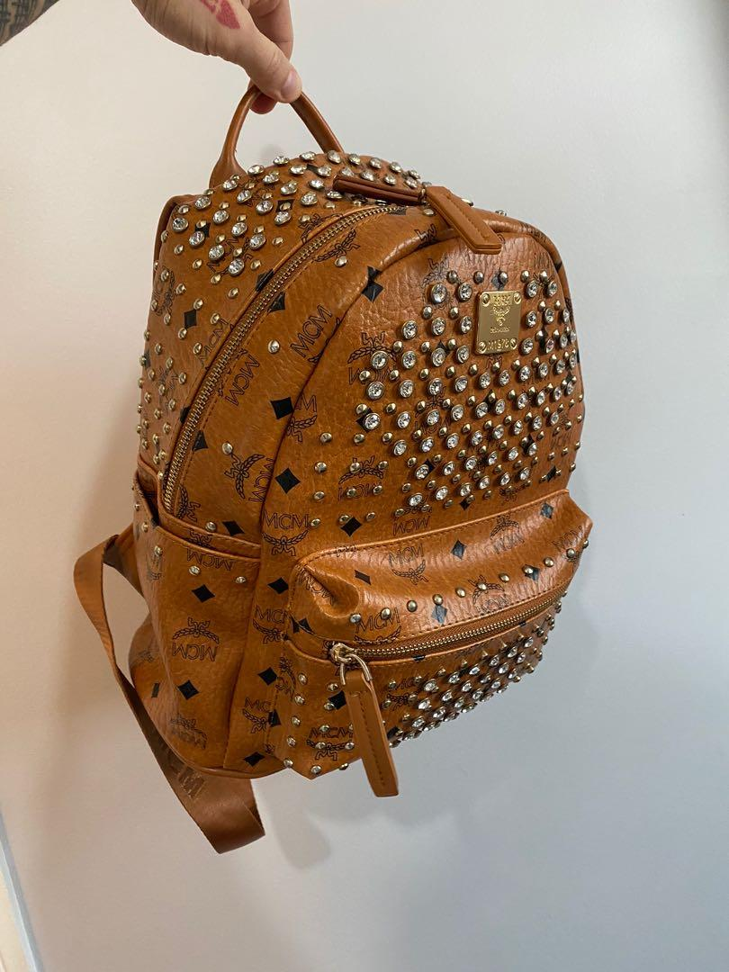 MCM Stark studded backpack