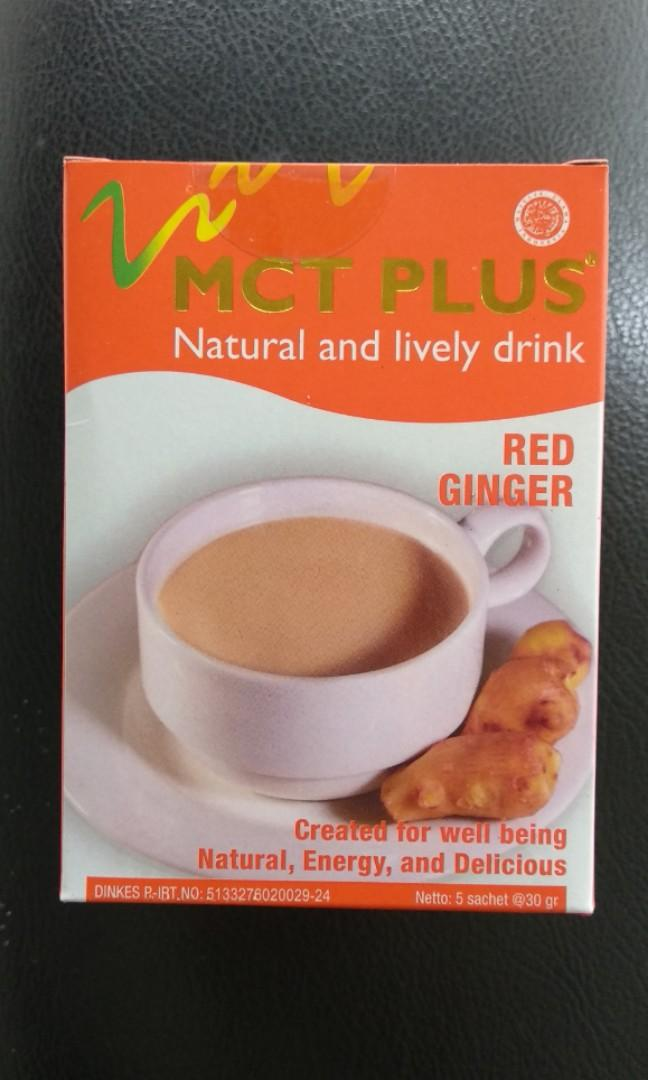MCT plus , red ginger