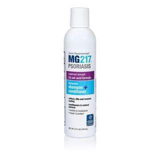 MG217 Psoriasis 3% Sal-acid Salicylic Acid Therapeutic 2 in 1 Shampoo Conditioner 8 oz 240ml