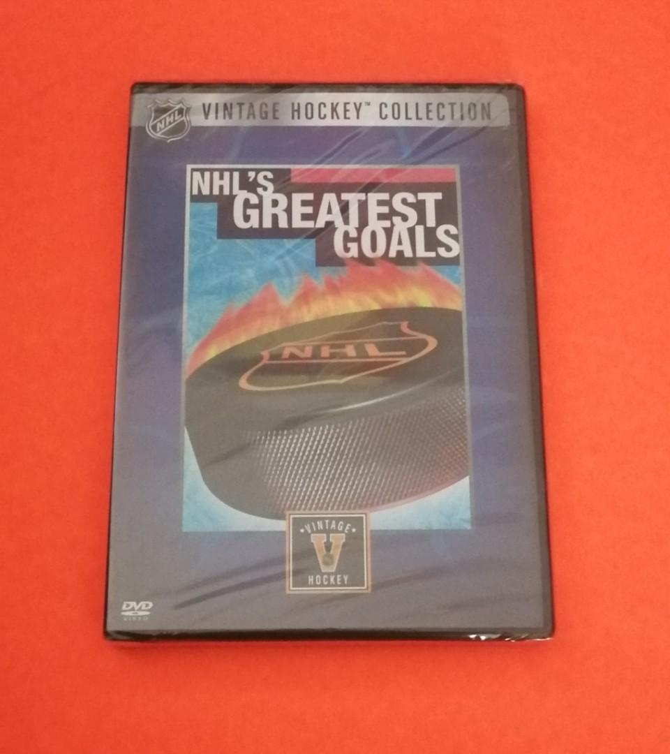 NHL's Greatest Goals dvd