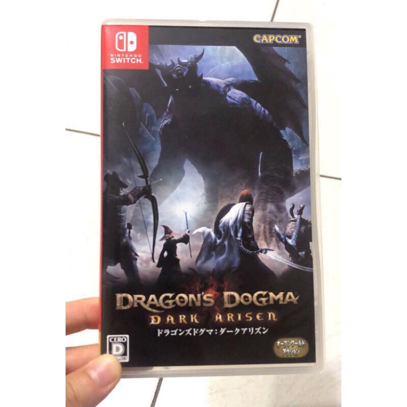 《龍族教義:黑暗再臨》Nintendo Switch 正版近全新