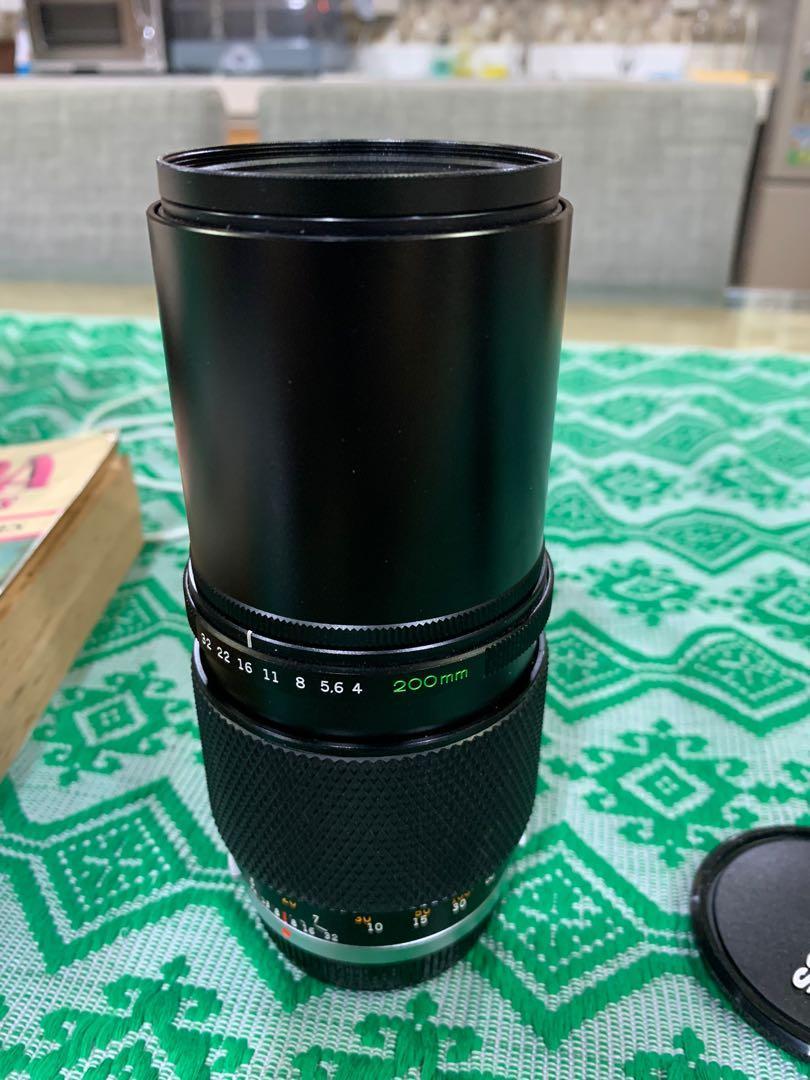 Olympus OM Lenses 135mm 3.5