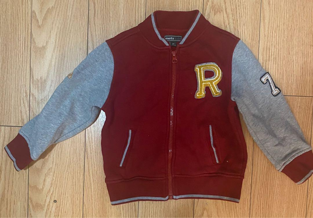 Roots red jacket