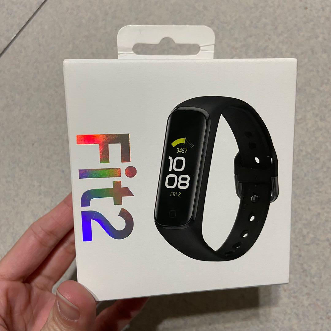 【Samsung】Galaxy Fit2 藍牙智慧手環-星幻黑