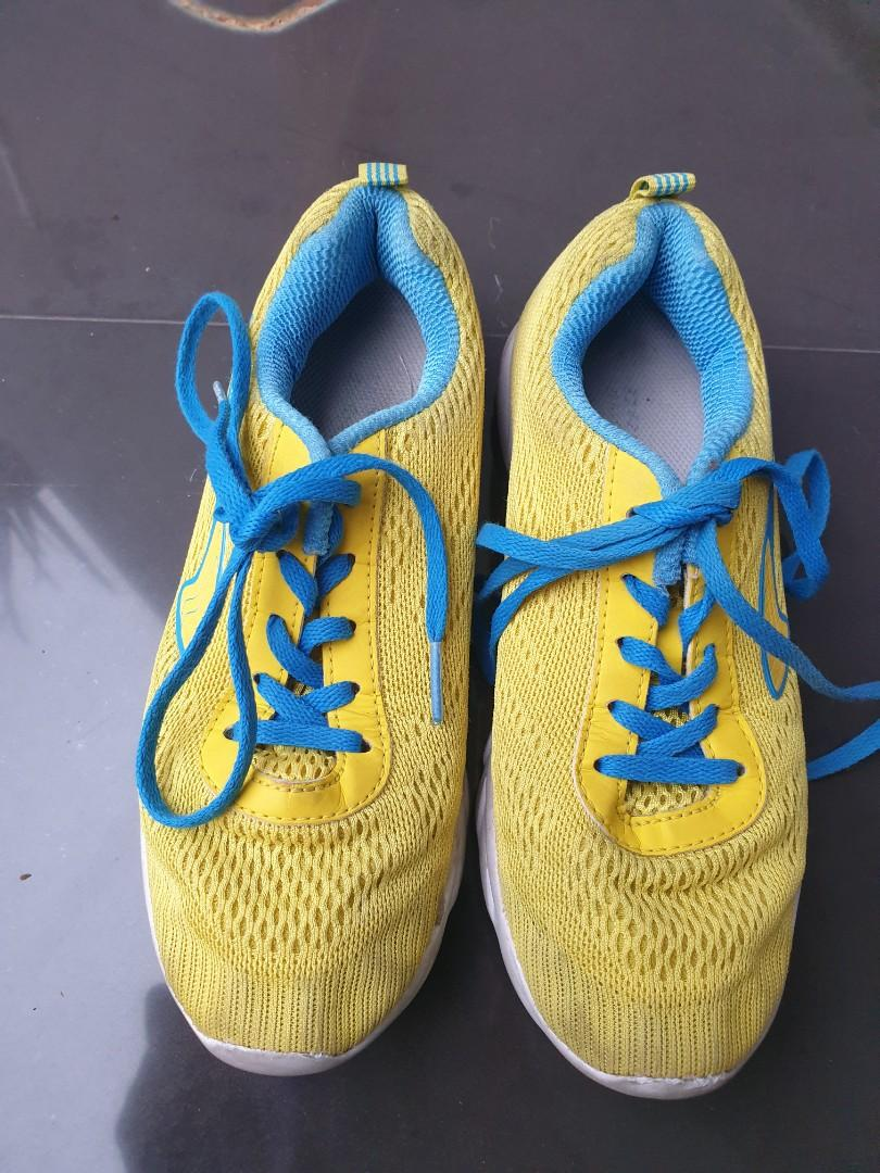 Sepatu anak DR KONG ORI BIRU KUNING