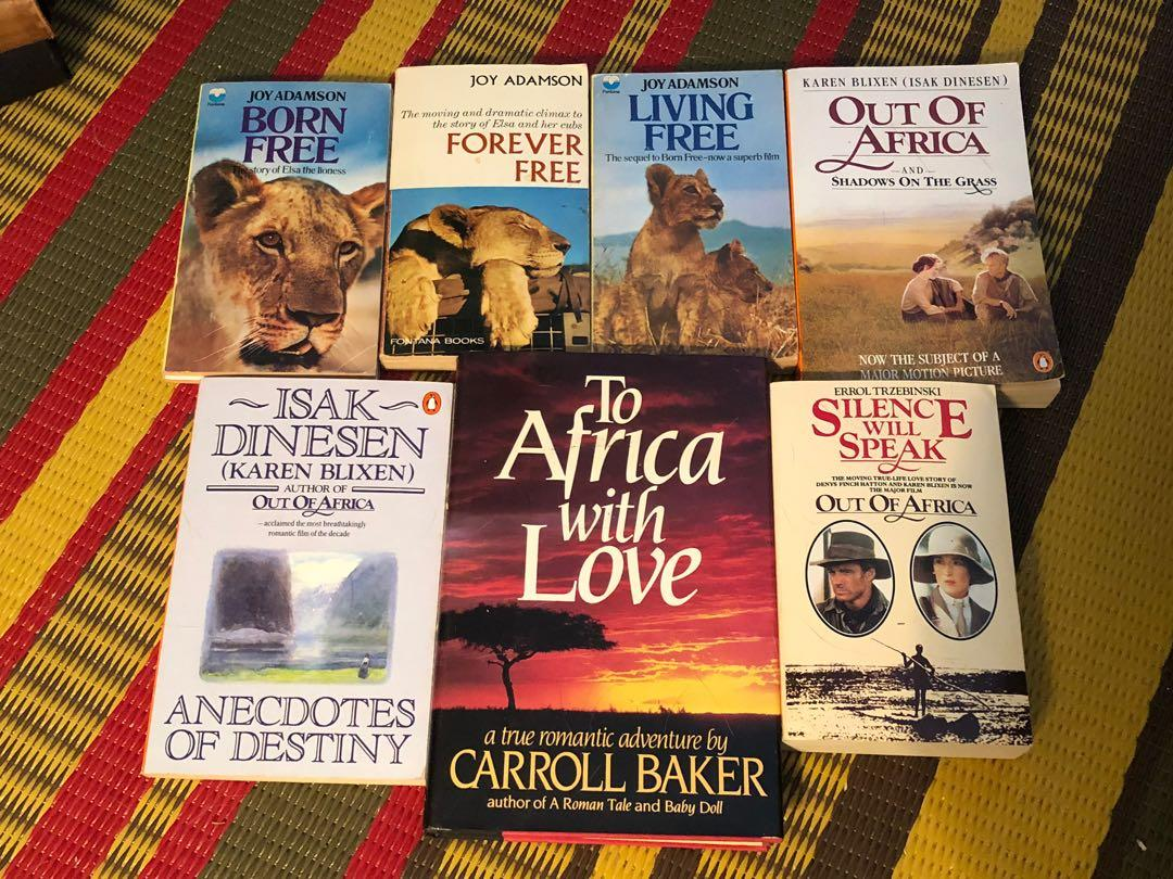 Seven books about Africa