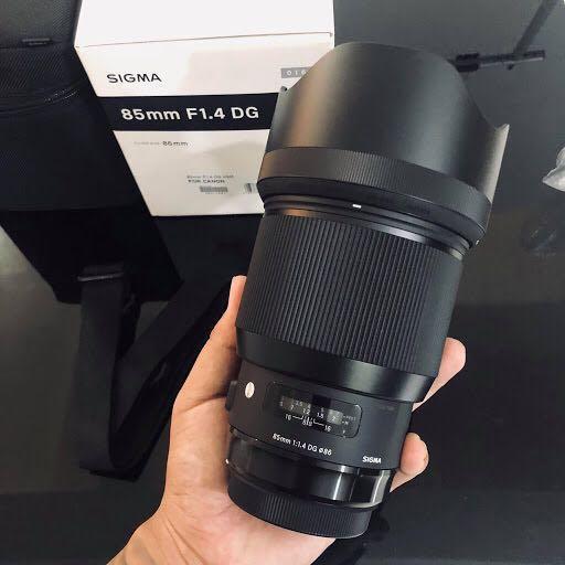 Sigma 85mm f1.4 (ART)