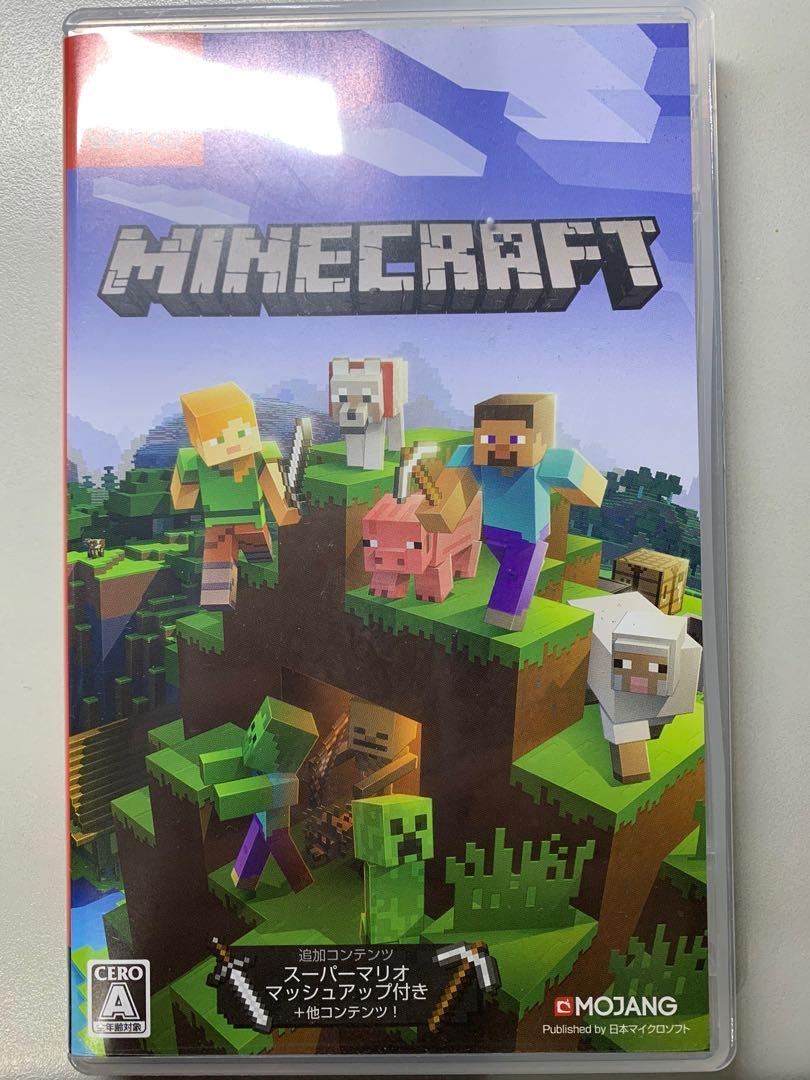 Switch遊戲卡夾-Minecraft
