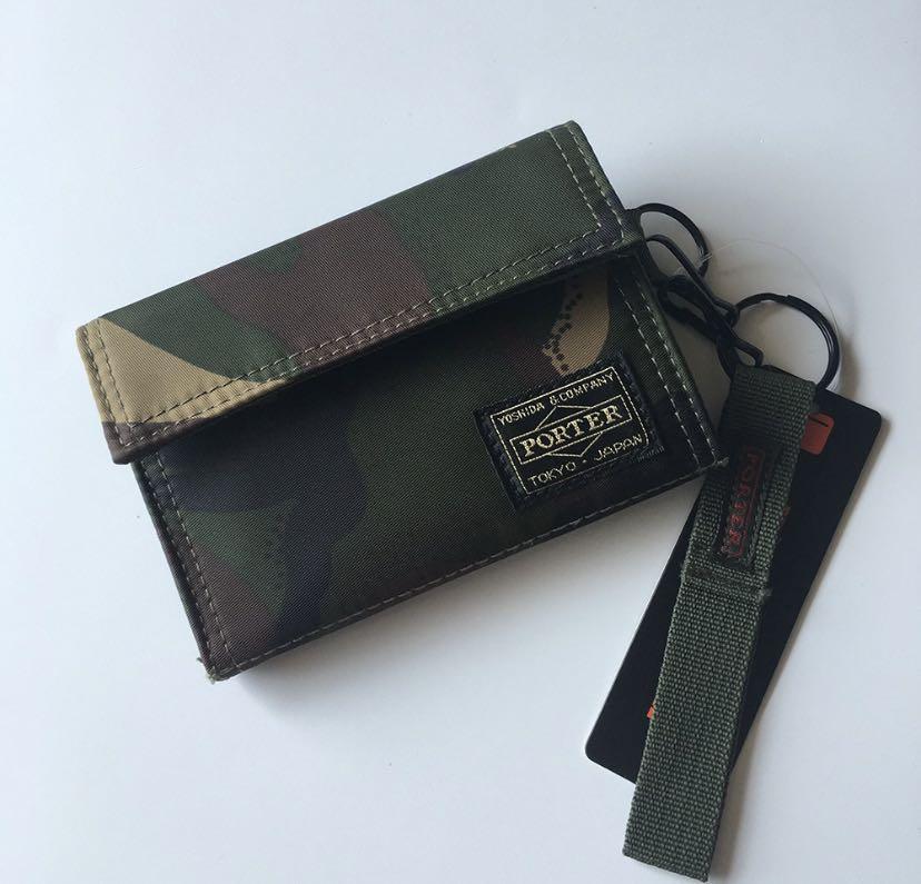 tempat make up dan dompet kartu porter camouflage