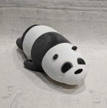 We Bare Bears 熊熊遇見你 胖達 熊貓 Panda Pan-Pan 玩偶 娃娃