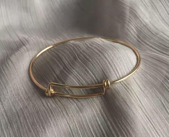 14k鍍金 簡約手環