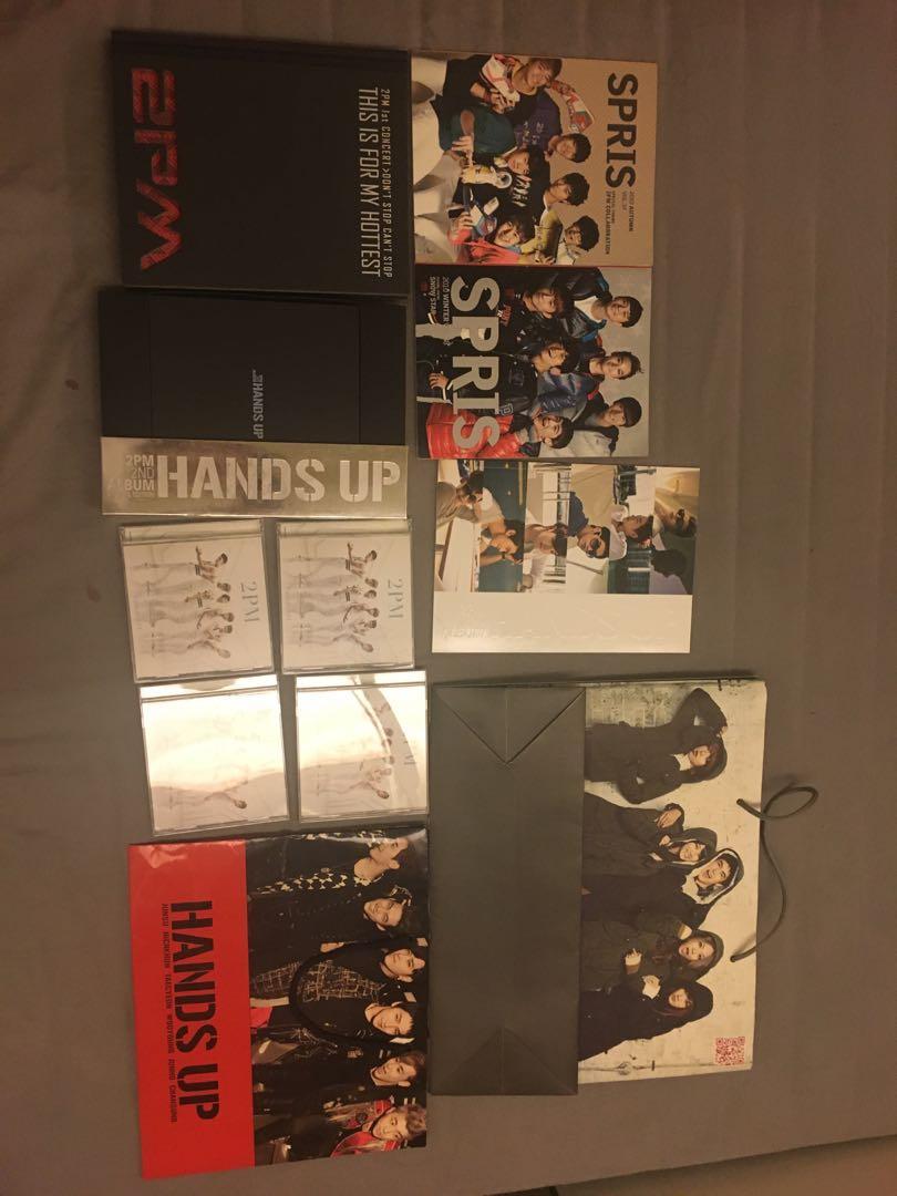 2PM各種周邊(專輯,紙袋,雜誌)