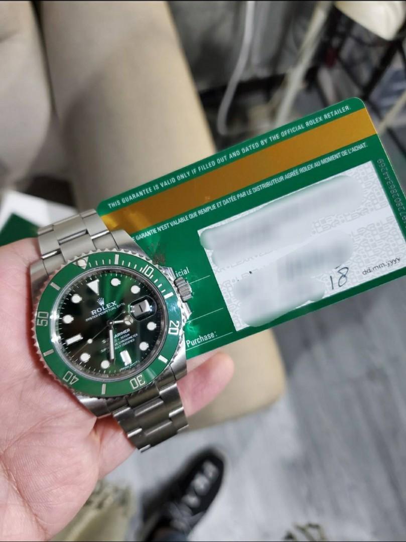 【已交流】勞力士 116610LV 綠水鬼 ROLEX 停產 Submarine 水鬼 116610 LV 絕版
