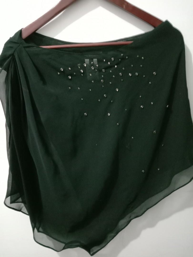 (專櫃)🌷黑色薄紗上衣
