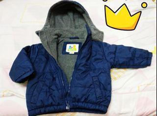 Sesame street 芝麻街男童連帽保暖刷毛外套boy's coat
