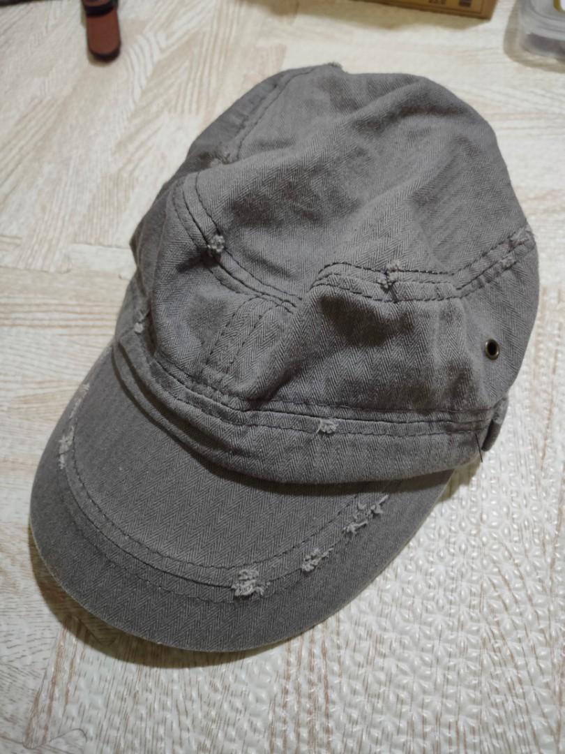 刷破牛仔布帽子