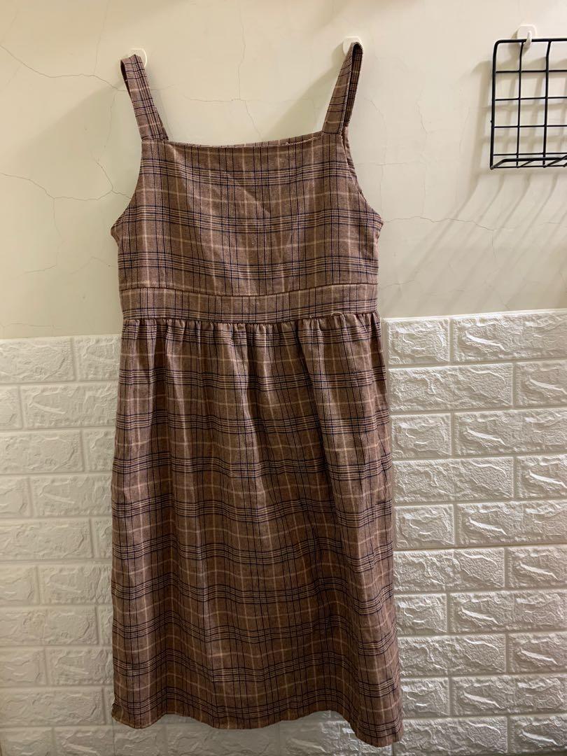 吊帶裙/條紋