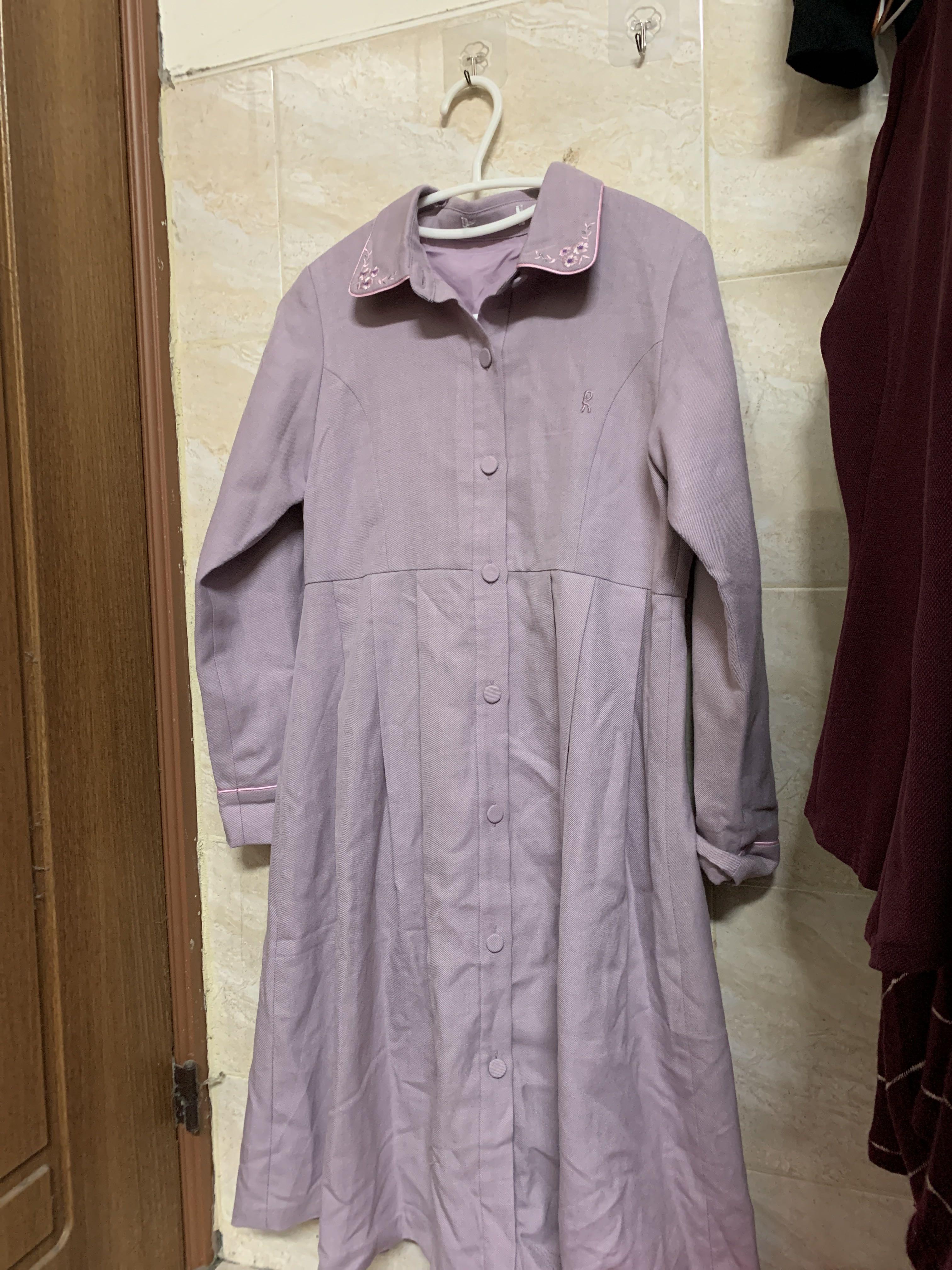 《降價》古著紫色洋裝