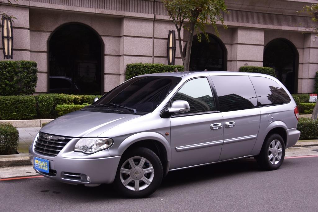 獨一無二 正七人座 Chrysler Town & Country 3.3 城鄉 貨車牌 稅金省近2萬塊 雙電動滑門  V6引擎 馬力174hp 扭力29kgm