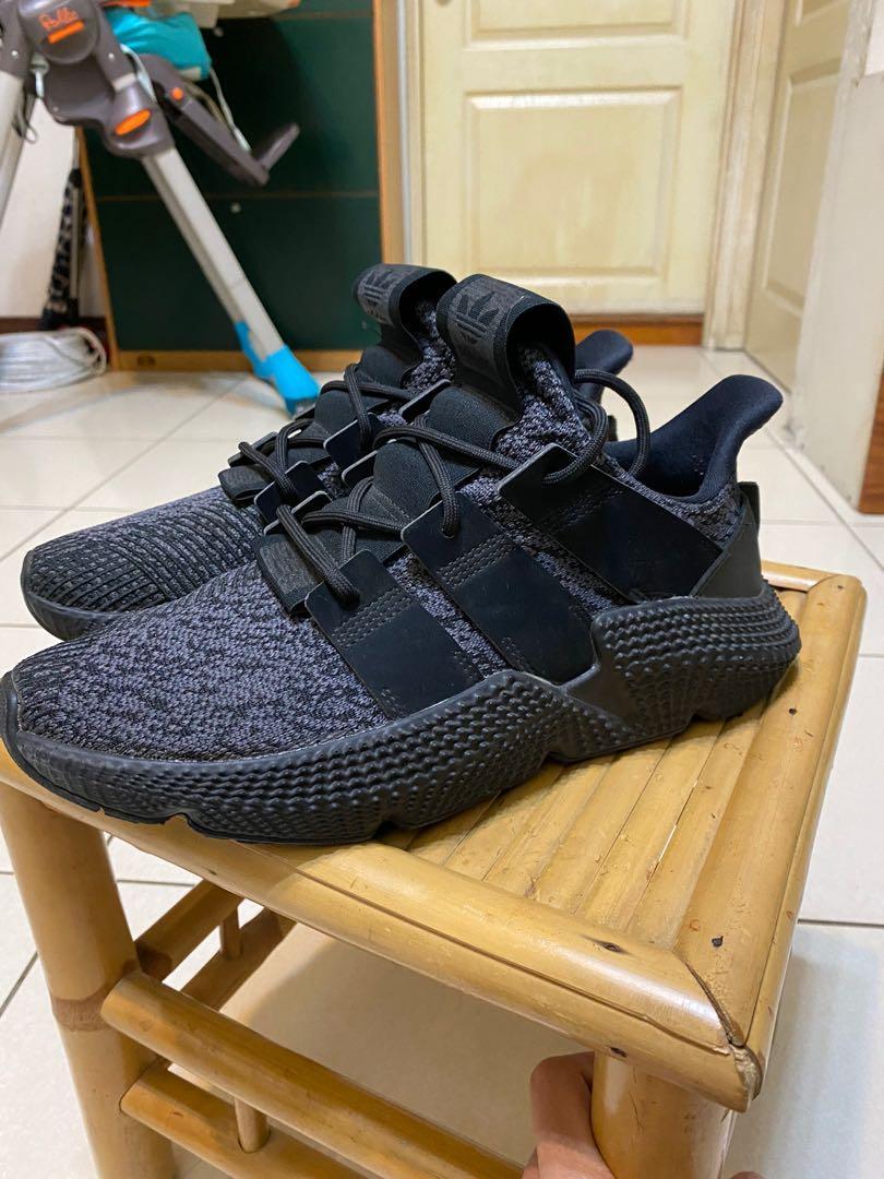 Adidas prophere 雪花黑魂
